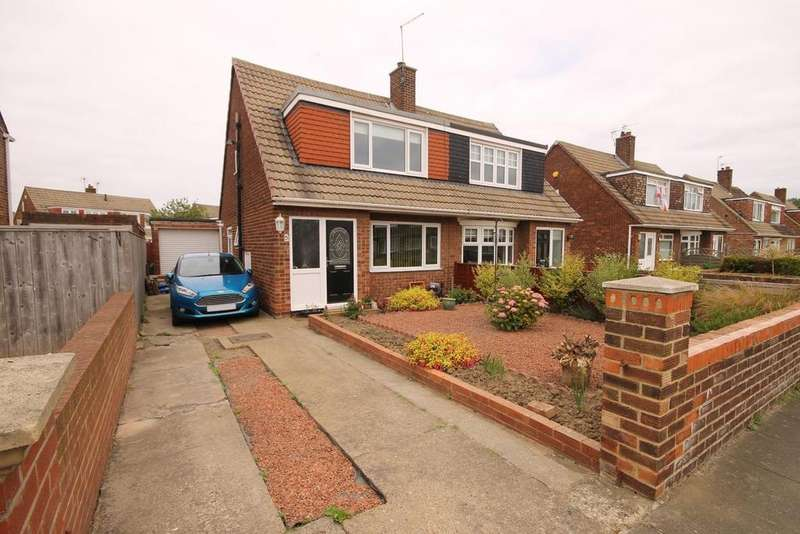 3 Bedrooms Semi Detached Bungalow for sale in Stokesley Road, Seaton Carew, Hartlepool