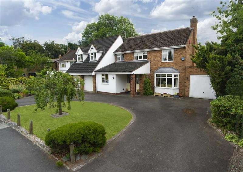 5 Bedrooms Detached House for sale in 29, The Parklands, Finchfield, Wolverhampton, WV3