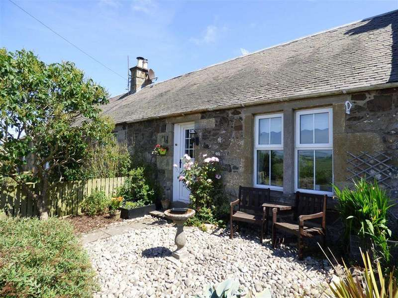 3 Bedrooms Cottage House for sale in Foodie Cottage, Foodieash, Fife