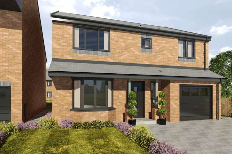 4 Bedrooms Detached House for sale in Marley View, Marley Hill, Newcastle Upon Tyne, NE16