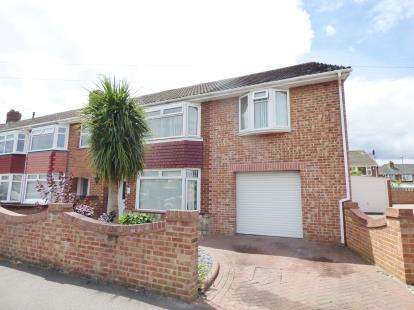 4 Bedrooms Semi Detached House for sale in Elson, Gosport, Hampshire
