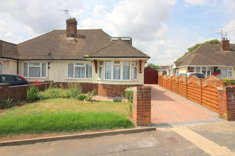 2 Bedrooms Semi Detached House for sale in Poplar Avenue, Luton, Bedfordshire, LU3 2BP