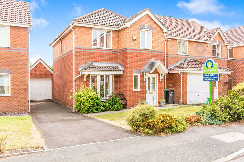 3 Bedrooms Detached House for sale in Pear Tree Drive, Farnworth, Bolton, BL4