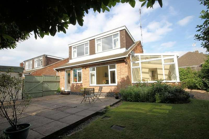 3 Bedrooms Detached House for sale in Brookside Close, Shepshed
