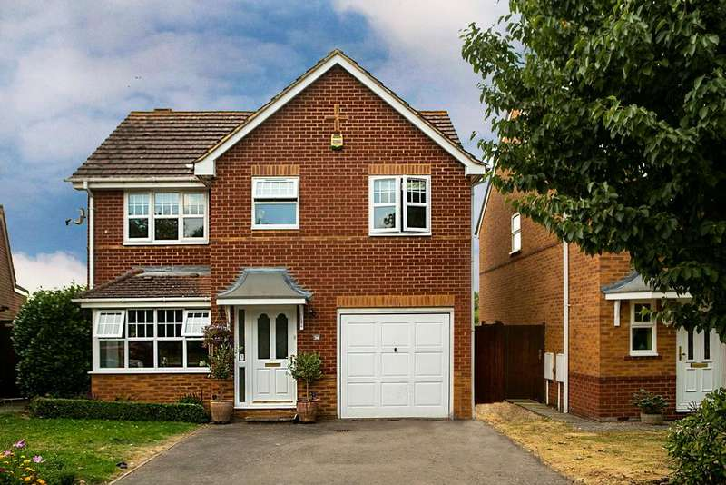 4 Bedrooms Detached House for sale in Century Drive, Spencers Wood, Reading, RG7 1PE