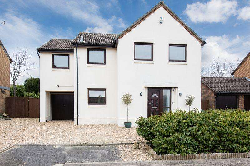 4 Bedrooms Detached House for sale in Joules Court, Shenley Lodge, Milton Keynes