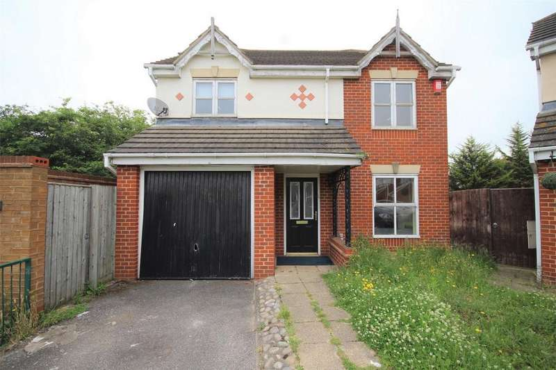 4 Bedrooms Detached House for sale in Neptune Close, Rainham, Essex