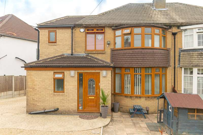 3 Bedrooms Semi Detached House for sale in Wensley Drive, Chapel Allerton, West Yorkshire, LS7