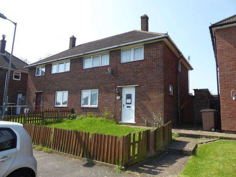 3 Bedrooms Semi Detached House for sale in Hillcroft Close, Luton