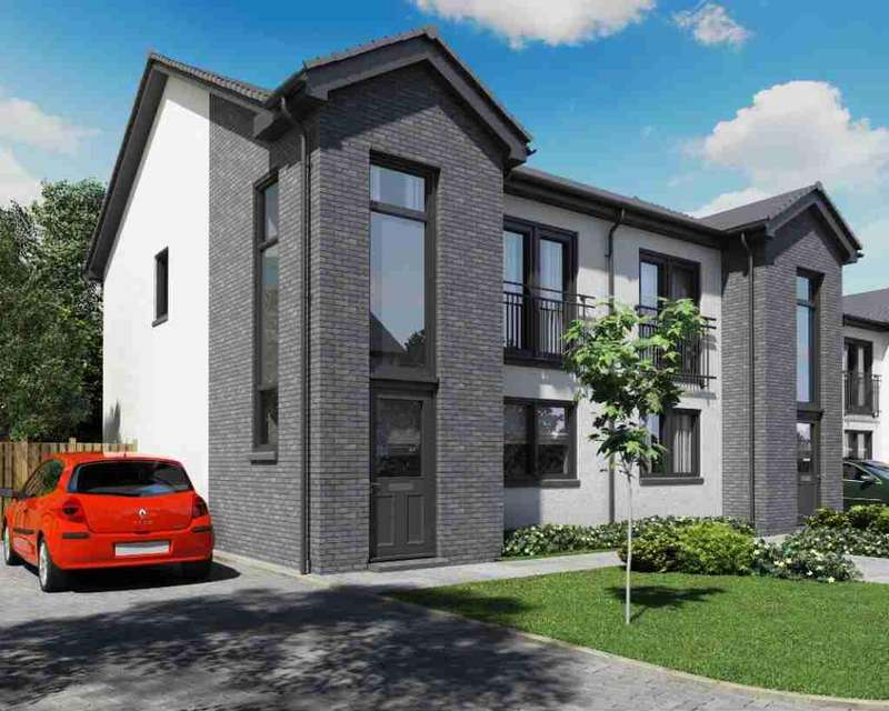 3 Bedrooms Semi Detached House for sale in Kinloch Court, Plot 7, Napierston Road, Alexandria, West Dunbartonshire, G83 9EP