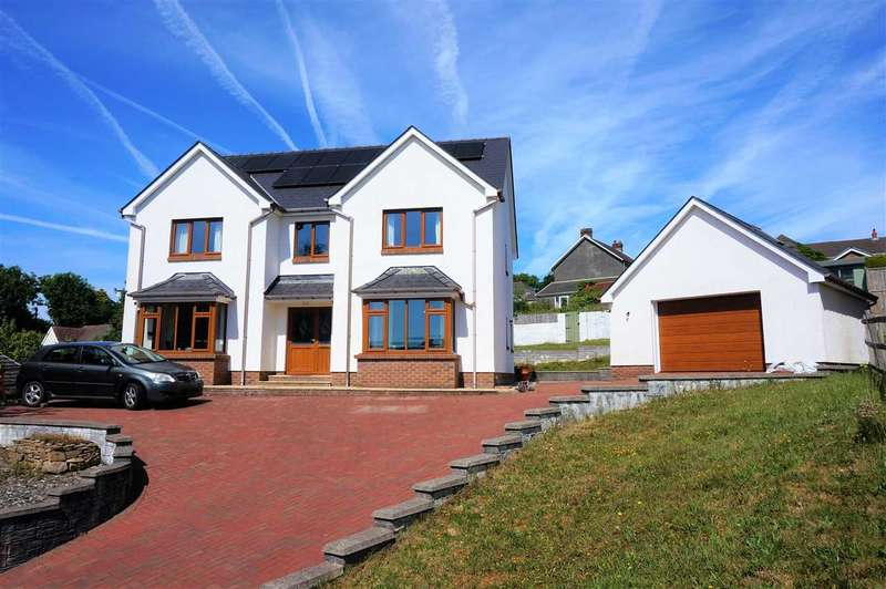 6 Bedrooms Detached House for sale in Bryntirion, PONTYBEREM, Llanelli
