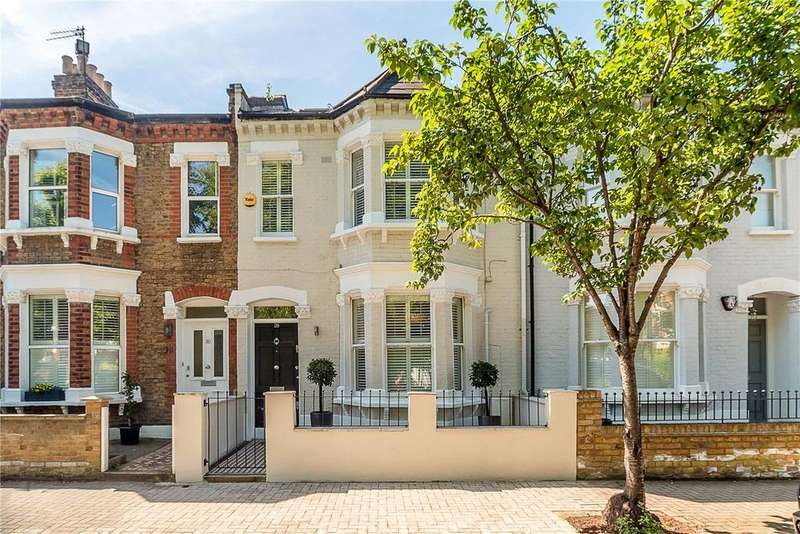 4 Bedrooms Terraced House for sale in Deodar Road, London, SW15