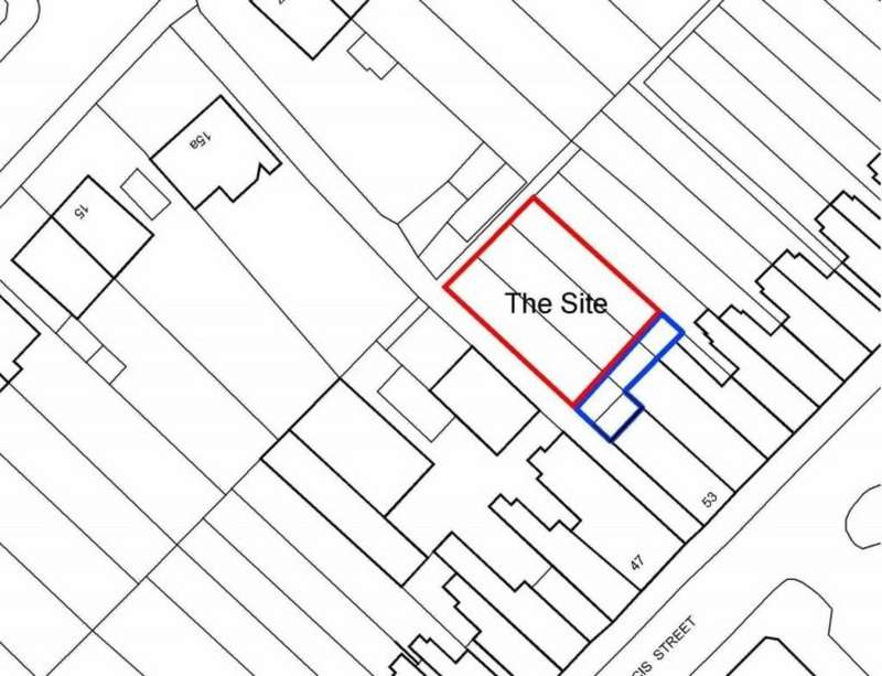 Land Commercial for sale in Land to the rear of Francis Street, Stoneygate, Leicester