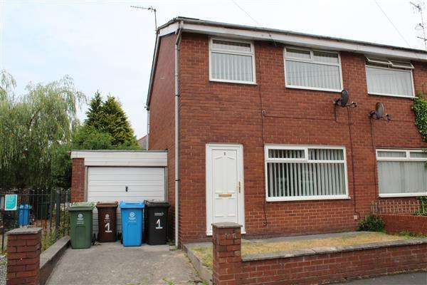 3 Bedrooms Semi Detached House for sale in Ashworth Street, Manchester