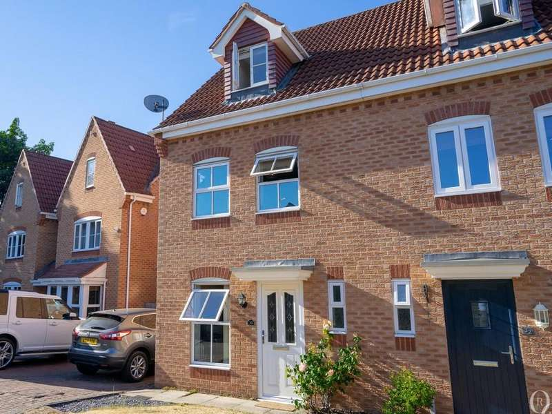 3 Bedrooms Semi Detached House for sale in Wetherby Close, Queniborough, Leicester