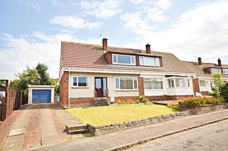 3 Bedrooms Semi-detached Villa House for sale in Sycamore Crescent, Ayr, South Ayrshire, KA7 3NS