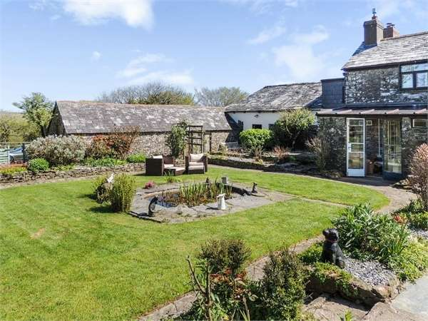 4 Bedrooms Detached House for sale in Eastcott, Eastcott, Bude, Cornwall