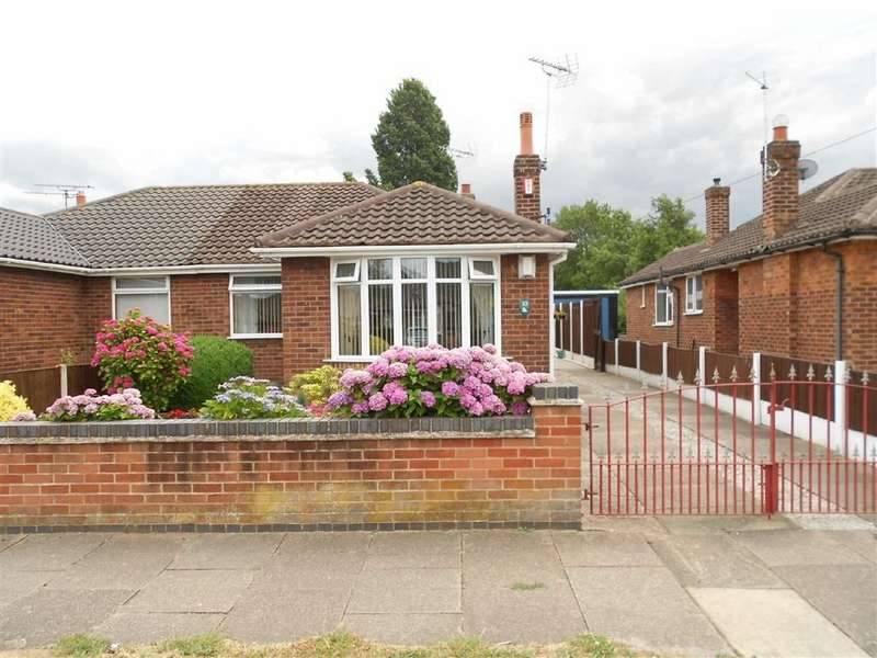 2 Bedrooms Semi Detached Bungalow for sale in Marley Avenue, Crewe, Cheshire