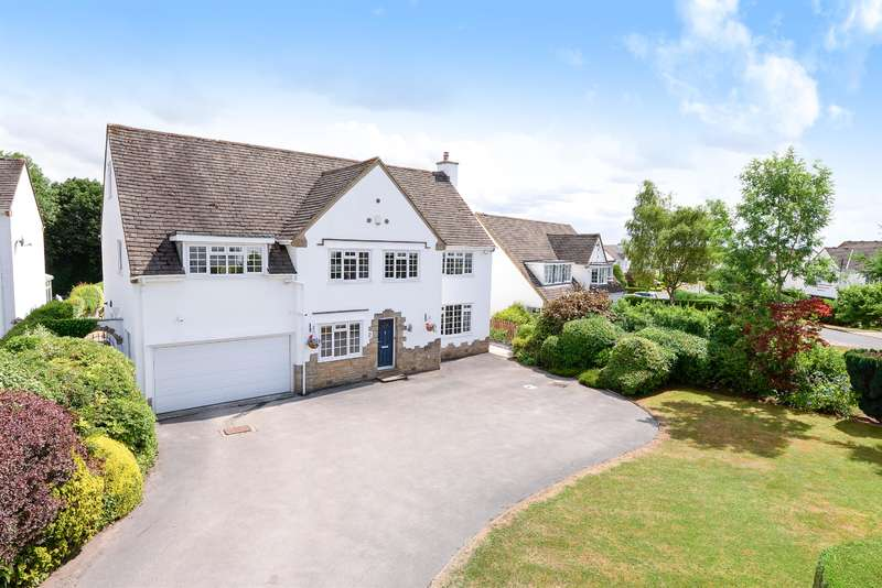 5 Bedrooms Detached House for sale in Thorpe Close, Guiseley, Leeds, LS20 8HP