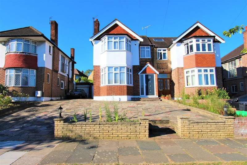 3 Bedrooms Semi Detached House for sale in Morton Way, Southgate, London, N14