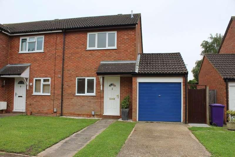 2 Bedrooms Semi Detached House for sale in Barley Rise, Baldock, SG7