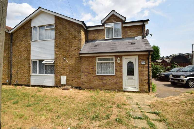 4 Bedrooms Semi Detached House for sale in Bedwell Crescent, STEVENAGE, Hertfordshire