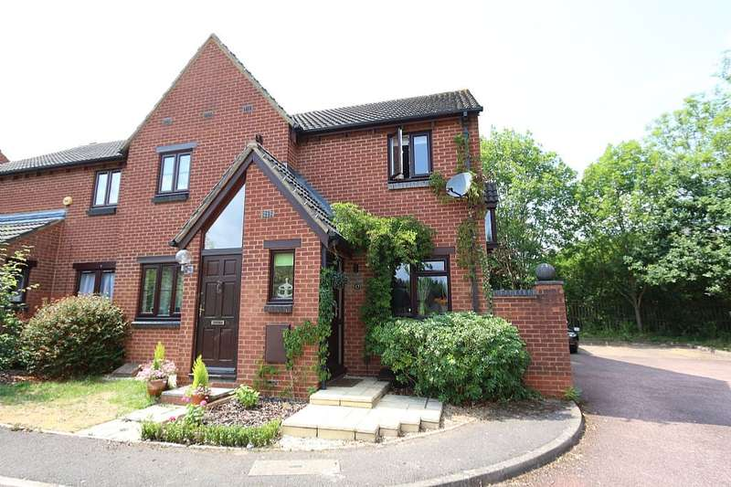 2 Bedrooms End Of Terrace House for sale in Westcotts Green, Warfield, BRACKNELL, Berkshire, RG42 3SG