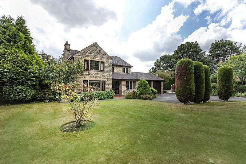 4 Bedrooms Detached House for sale in Staincliffe Hall Road, Batley, WF17