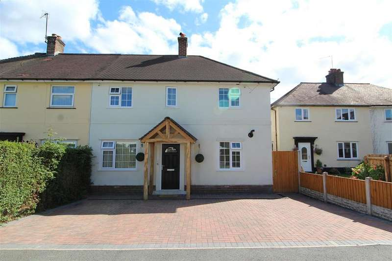 4 Bedrooms Semi Detached House for sale in Maes Y Parc, Chirk, Wrexham