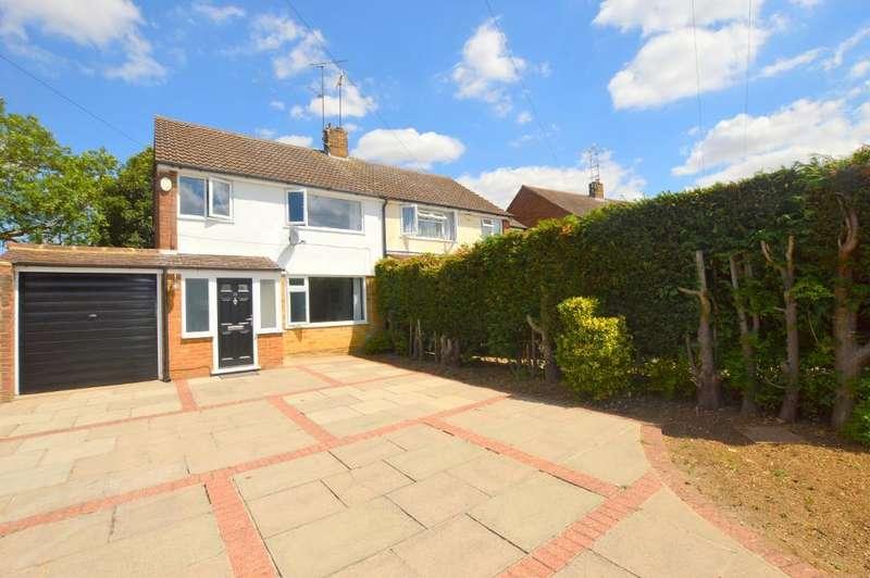 3 Bedrooms Semi Detached House for sale in Mendip Way, Luton, Bedfordshire, LU3 3JJ