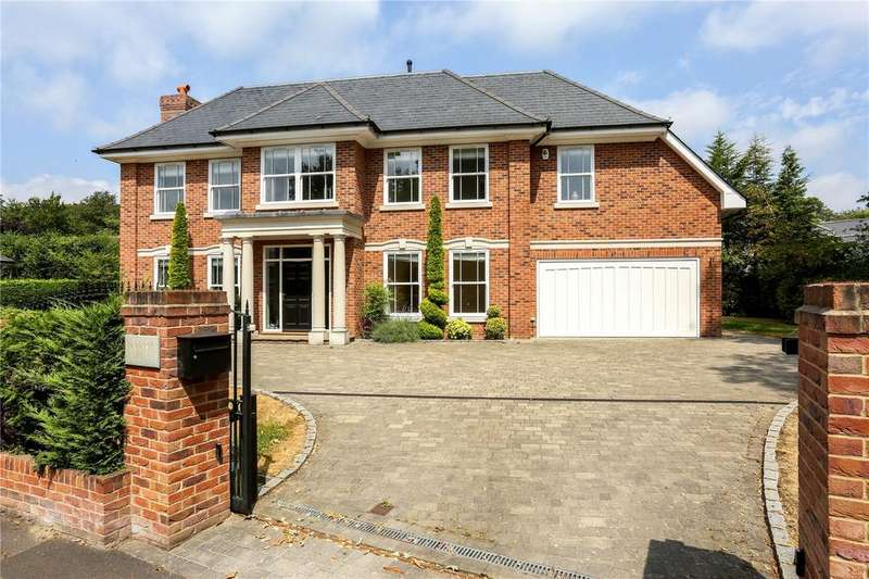 6 Bedrooms Detached House for sale in Snows Paddock, Windlesham, Surrey, GU20