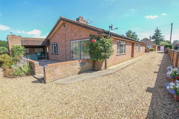4 Bedrooms Detached Bungalow for sale in 8 Green Lane, South Wootton