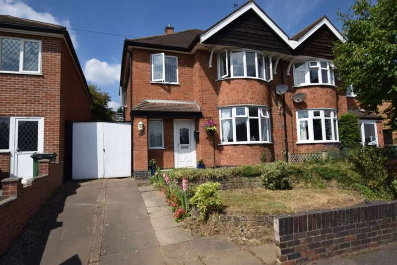 3 Bedrooms Semi Detached House for sale in Ambergate Drive, Birstall, Leicester, LE4