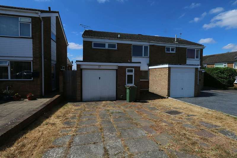3 Bedrooms Semi Detached House for sale in Freshwater Close, Wigston, Leicestershire, LE18 2RT