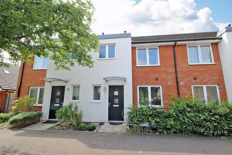 3 Bedrooms Terraced House for sale in Crediton Mews, Devon Park, Bedford