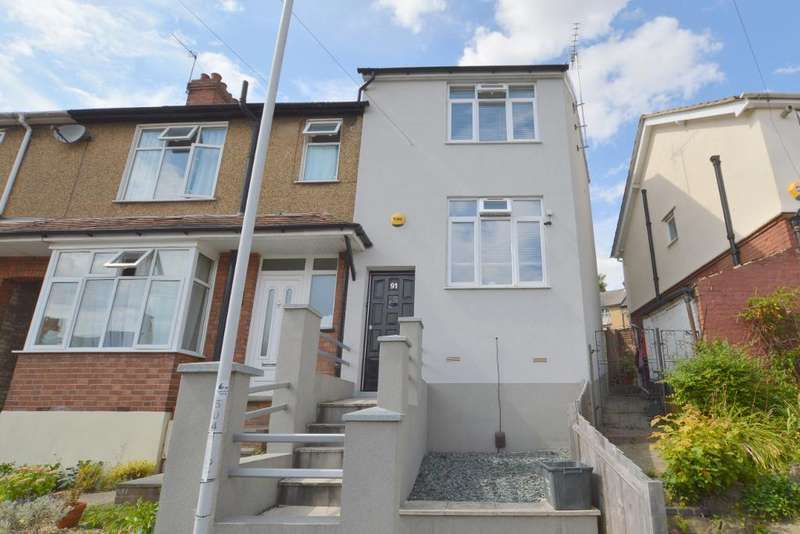 6 Bedrooms End Of Terrace House for sale in Kingston Road, Round Green, Luton, LU2 7RZ