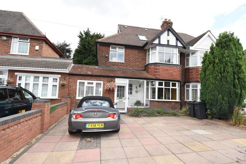 4 Bedrooms Semi Detached House for sale in Ventnor Avenue, Hodge Hill, Birmingham
