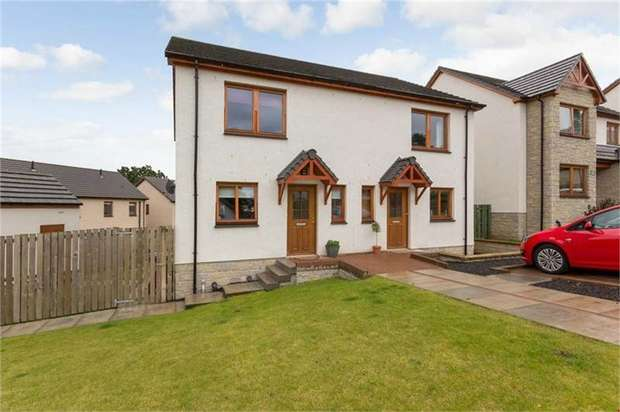 2 Bedrooms Semi Detached House for sale in Bearehill Loan, Brechin, Angus