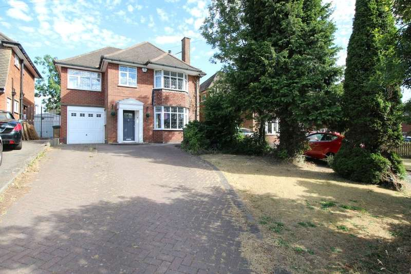 4 Bedrooms Detached House for sale in Coventry Road, Bulkington, Bedworth, CV12