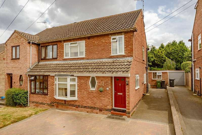 4 Bedrooms Semi Detached House for sale in Lunn Avenue, Kenilworth
