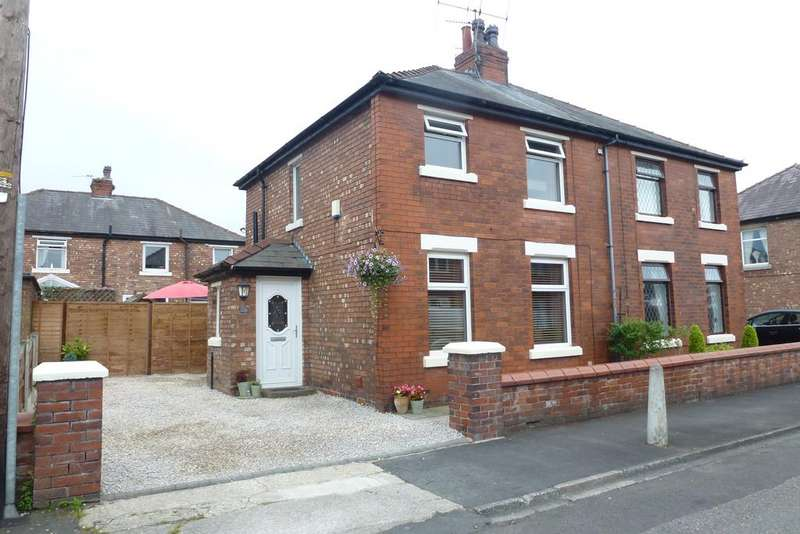 3 Bedrooms Semi Detached House for sale in DERBY STREET, LEYLAND PR25