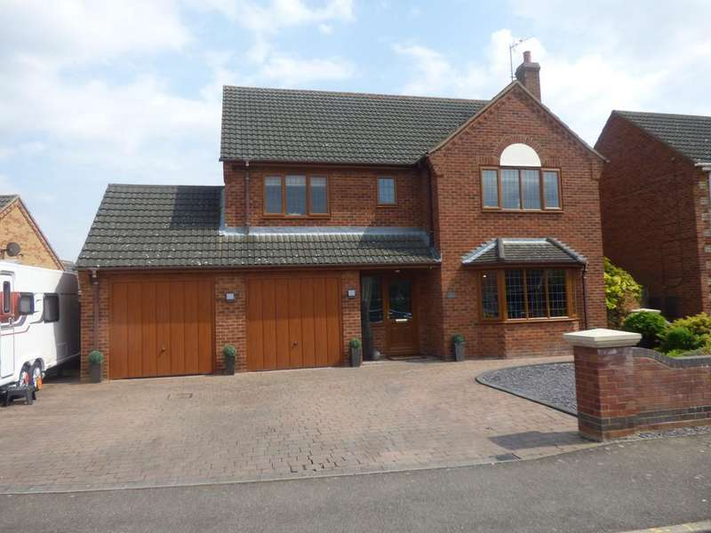 4 Bedrooms Detached House for sale in Angelica Drive, Spalding