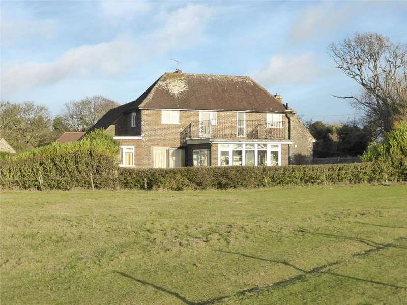 4 Bedrooms Detached House for sale in Crowlink Lane, Friston, Eastbourne, East Sussex, BN20