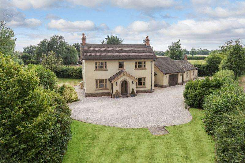 4 Bedrooms Country House Character Property for sale in Thornberry House, Burland, Near Nantwich