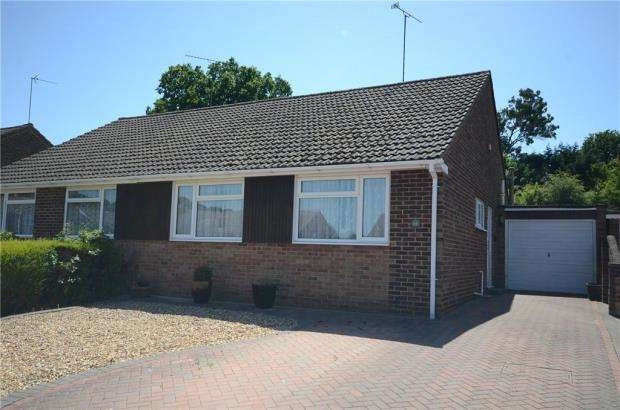 2 Bedrooms Semi Detached Bungalow for sale in Copse Drive, Wokingham, Berkshire