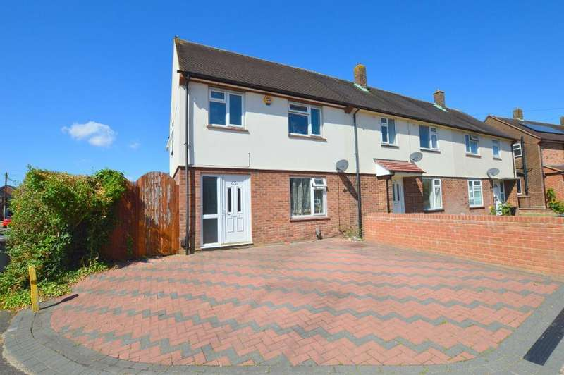 3 Bedrooms End Of Terrace House for sale in Southdrift Way, Farley Hill, Luton, LU1 5PY