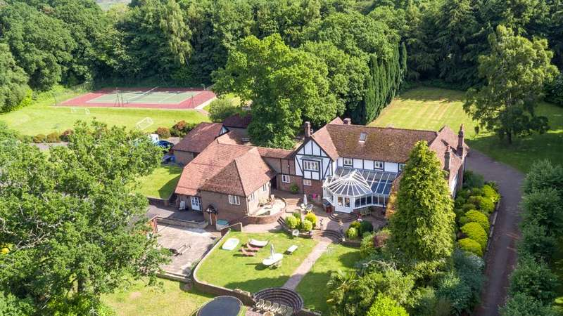 8 Bedrooms Detached House for sale in Shobley, Ringwood, Hampshire, BH24