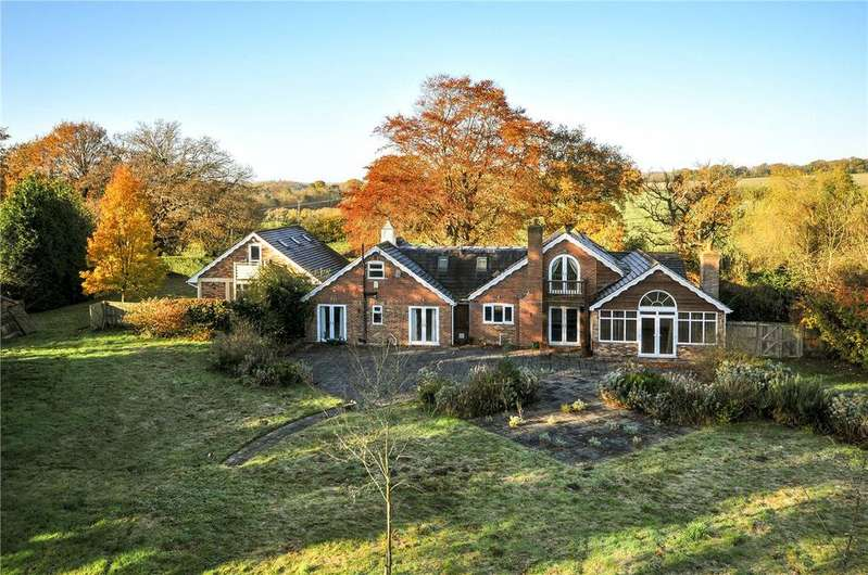 5 Bedrooms Detached House for sale in Gambledown, Sherfield English, Romsey, Hampshire, SO51