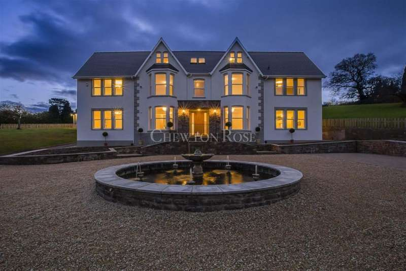 6 Bedrooms Detached House for sale in Llanbadoc, USK