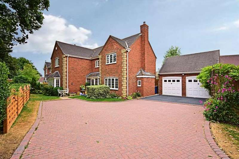 4 Bedrooms Detached House for sale in Ashmole Avenue, Burntwood, WS7